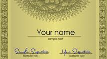 Certificados en blanco