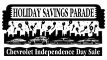 Logo Chevrolet Independence Day