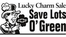 Logo Chevrolet Lucky Charm Sale
