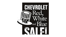 Logo Chevrolet Red White Blue
