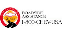 Logo Chevrolet Roadside Assist