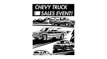 Logo Chevrolet Truck Sales Event
