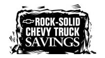 Logo Chevrolet Truck Savings