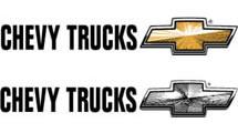 Logo Chevy Truckss