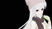 Chica de pelo blanco