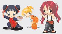 Chicas anime variadas
