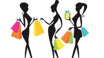 Chicas de shopping