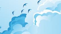 Cielo con aves
