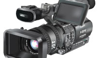 Cámara de video profesional