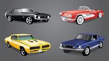 Coches clásicos: 4 modelos