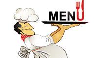 Cocinero con logo