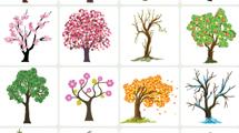 Colección de árboles de todo tipo