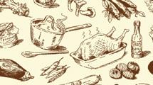 Comida dibujada