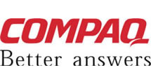Logo COMPAQ Better answers