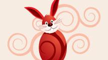 Conejo en el Huevo