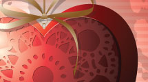 Corazón colgante