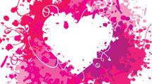 Corazón con manchas