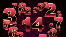 Corazón con números