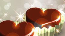 Corazón de bombón