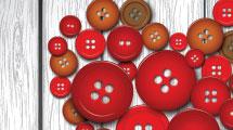 Corazón de botones