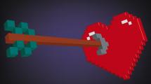 Corazón de Pixels