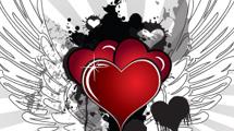 Corazón estilo grunge
