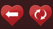 Corazones símbolos