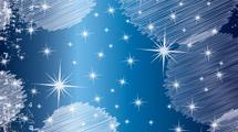 Círculos blancos con estrellas