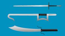 Cuchillos y katanas