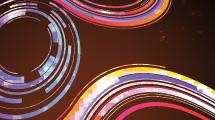 Curvas abstractas llenas de color