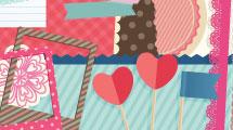 Día de los enamorados - Scrap