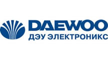 Logo Daewoo Elect with rus line