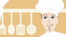 Dibujo de chef