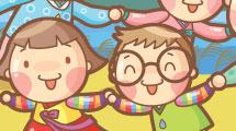 Dibujos animados: familia