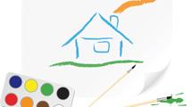 Dibujos infantiles con objetos