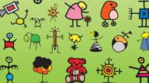 Dibujos infantiles pequeños