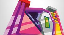 Diseño 3D abstracto