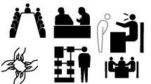 Diseño gráfico: iconos vectoriales