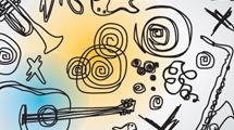Doodles de música