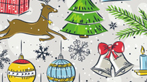 Doodles de Navidad