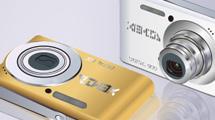 Dos cámaras modernas