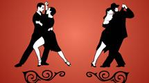 Dos parejas de tango