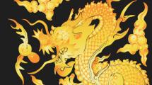 Dragón amarillo