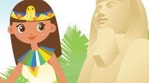 Egipto: fondo tradicional
