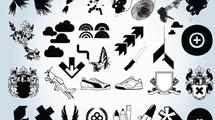 Elementos decorativos en negro