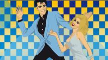 Elvis bailando