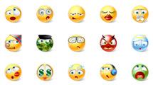 Emoticones simpáticos