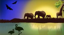 Escena en África