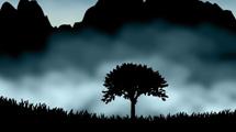 Escenas nocturnas de paisajes