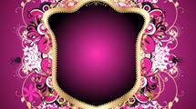 Escudo violeta